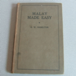 Malay made easy 1946 language book for malaya
